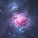 Great Orion nebula, Messier 42,                                Marcel Drechsler