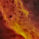 NGC 1499 California Nebula,                                Nicholas Bradley