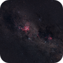 ETA CARINAE, RUNNING CHICKEN NEBULA & NGC 3576,                                Wilson Lee
