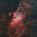 Messier 16 deuxième version en HOO,                                Georges