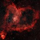 Heart Nebula with RASA 8,                                Clemley