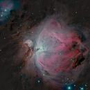 Messier 42 - Orion Nebula,                                Régis Le Bihan