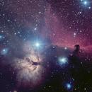 Alnitak Region - Horsehead, Flame, IC435,                                Sergio G. S.