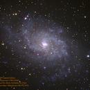 M33 Spiral Galaxy,                                Al Bates