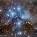 Les Pléiades  M45,                                Philippe Oros