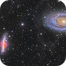 Mosaic M81 and M82 (Full Reprocessing),                                Alberto Pisabarro