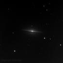 M104, The Sombrero Galaxy,                                Madratter