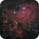 IC 405 Flaming Star in Auriga,                                Space_Man_Spiff