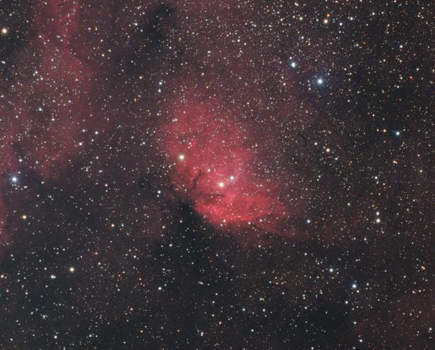 The Tulip Nebula,                                Gabe Shaughnessy