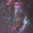 part of mosaic - veil nebula complex,                                Piero Venturi
