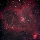 Heart Nebula (IC1805),                                madhuprathi