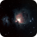 M42 & M43 with the Running Man Nebula,                                mtbkr123