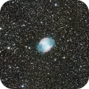 Dumbell Nebula  M27,                                Ray Heinle