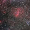 Bubble Nebula wide field,                                casamoci