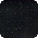Position of Leo Triplet - widefield,                                AC1000