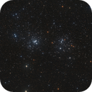 NGC 884 & NGC 869 - The Double Cluster,                                Bart Delsaert