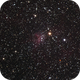 NGC 1907 and Friends in HaRGB,                                Sigga