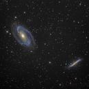 Bode's and Cigar Galaxy (M81 & M82),                                Keming