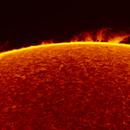 2016.08.28 Sun prominences H-Alpha,                                Vladimir
