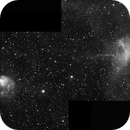 IC 417 and NGC 1931, The Spider and the Fly, Two-Panel Mosaic in H-alpha,                                Eric Coles (coles44)