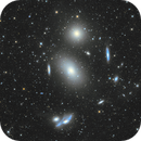 The most spectacular part of Markarian's Chain,                                Shenyan Zhang