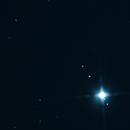 Jupiter and moons test shot,                                veekoo