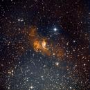 Bubble Nebula,                                Joseph Cayouette