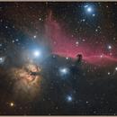 Horsehead Nebula and the area around (LRGB),                                Aarni Vuori