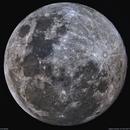 Moon in narrowband,                                lukfer