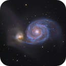 M51 LRGB,                                Hunter Harling