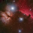 Horsehead Nebula,                                aconder