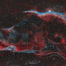 The Western Veil Nebula and Pickering's Triangle Mosaic,                                David Wills (Pixe...