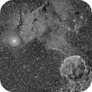 IC443 & SH2-249 - Medusa Nebula area,                                Pascal Gouraud
