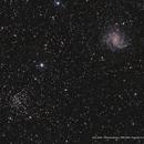 NGC 6946 /  Fireworks Galaxy / NGC 6939,                                Ron Bokleman