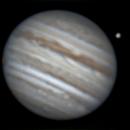 Animation - Ganymede Transit on May 21, 2018,                                JDJ