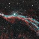 Western Veil Nebula NGC 6960,                                physics5mickey