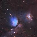 Messier 78 Region in Orion.,                                Kees Scherer