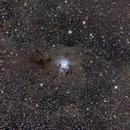 La nebulosa Iris,                                gagba