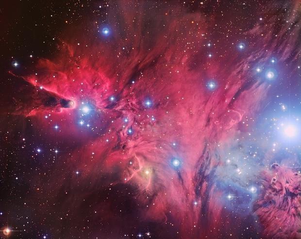 NGC2264 - Subaru / ESO / Own data,                                Roberto Colombari