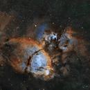 Fish head nebula - NGC 896,                                Emanuele Bergamaschi