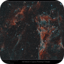 Veil Nebula in Cygnus (Pickering's Triangle),                                Mike Oates