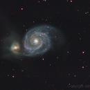 Messier 51 M51,                                Johann Schiffmann