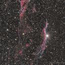 (West) Veil Nebula - full LRGB,                                Rodolphe Goldsztejn