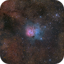 M20 The Trifid Nebula,                                Chuck Manges