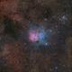 M20 The Trifid Nebula,                                Chuck Manges