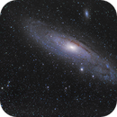 M31 Andromeda Galaxie 400mm.,                                Matthias Groß