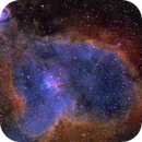 The Heart Nebula in the Hubble Palette,                                Kevin Dixon