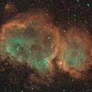 The Soul Nebula in BiColor,                                Madratter