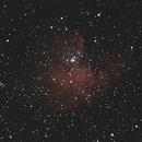 NGC 281 - Nebulosa PacMan,                                Luis Martinez
