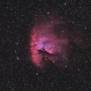Pacman nebula NGC 281 HOO,                                Patrice RENAUT